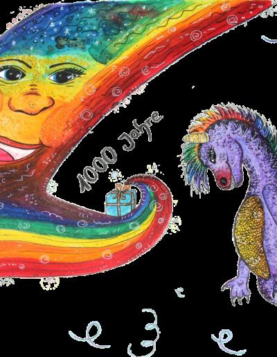 Flox + Regenbogen frei klein